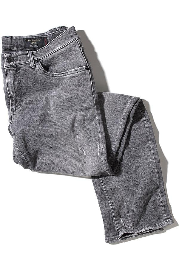 Dolce and Gabbana Fit 14 Distressed jeans at Flannels  ()