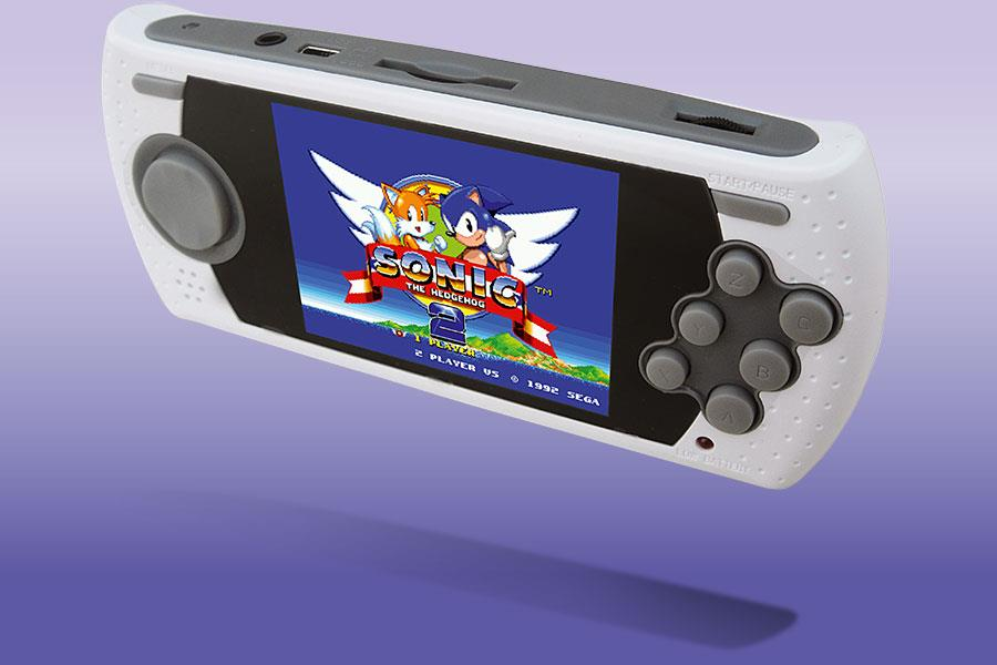 The Sega Mega Drive Ultimate Portable Game Player ()